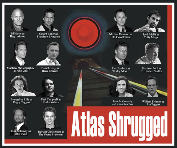 Atlas Shrugged Movie: Partial Cast